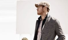 Men's Spring Hat Trends - The Flat Cap - Image by Clemente Talarico