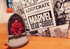 Loot Crates Marvel Gear  Goods October Unboxing Gallery
