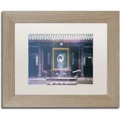 Trademark Fine Art Yin Yang Canvas Art by Philippe Hugonnard, White Matte, Birch Frame, Assorted