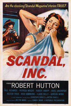 Scandal Incorporated, de Edward Mann, 1956