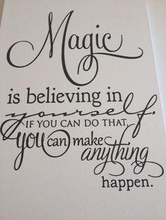 Tekstbordjes Magic