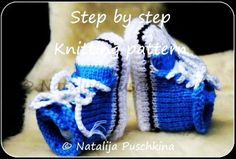 Knitting pattern (PDF) Babies Shoes Socks Baby Booties Boy & Gilr - LoveItSoMuch.com