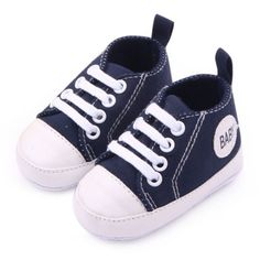 Awesome Infant 0-12M Newborn Toddler Canvas Sneakers Baby Boy Girl Soft Sole Crib Shoes First Walkers 12 Colors - $ - Buy it Now!