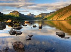 Wast Water, Lake District, England - Been here it was amazing! Cumbria, Lake District, Places To Travel, Places To See, Beautiful World, Beautiful Places, Places In England, British Countryside, Wonders Of The World
