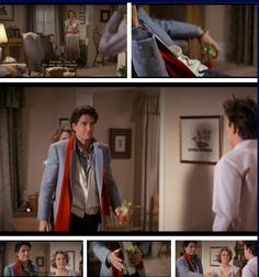 Fright Night (1985) Charley's mom (Dorothy Fielding) invites vampire neighbor Jerry Dandridge (Chris Sarandon) over for some Bloody Mary's…to Charley's chagrin.