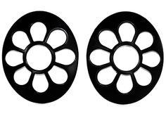 VW Beetle Accessory - V-Tech VW Beetle Black Daisy Tail Light Covers