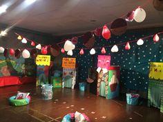 Escenogràfia festival nadalenc, escoletademaru'17