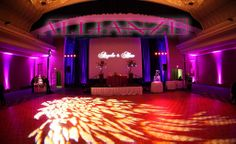 event uplighting services