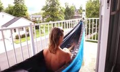 Mad geniuses have created the ultimate camping gear: A hot tub hammock - Posted on Roadtrippers.com!