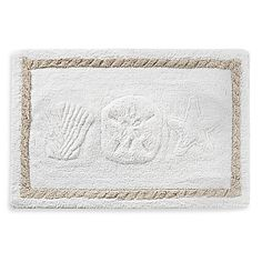 $24.99 @ Bed Bath & Beyond Channel your love for spending summers by the ocean by bringing some beach-inspires style to your bathroom with the Seaside Bliss Bath Rug. Indulge yourself in the luxurious softness of this cotton rug.