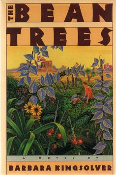 Bean Trees - Barbara Kingsolver Kind, compassionate book. Good read.  I like the fable about heaven and hell the guatemalan guy tells. (anticipating stupid: no i don't make planes fall off the sky)