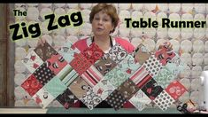 Zig Zag Charm Pack Table Runner - YouTube