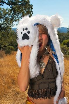 i would totally be a polar bear for halloween