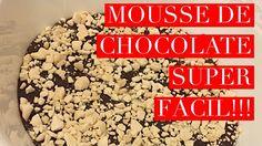 Mousse de Chocolate super fácil! Com apenas 3 ingredientes, você faz esse mousse de chocolate delicioso! Assista ao vídeo e assine o canal para receber todas as novidades!!!  www.scrapchique.com.br  #scrapchique #moussedechocolate #diy #tutorial #chocolate
