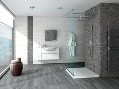 Baños con estilo #test1 Exterior Design, Interior And Exterior, Portuguese Tiles, Plumbing Fixtures, Sweet Home, New Homes, Bathtub, Flooring, Wall