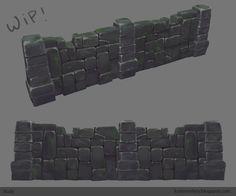 Resultado de imagem para handpainted  dungeon