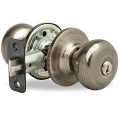 #Yale Entry Door Knobs - Click to view Installation Videos & Tips. #DIY #HomeImprovement #DoorKnob #YaleLocks #DoorHardware #Entryway #DoorKnobs #DoorLock