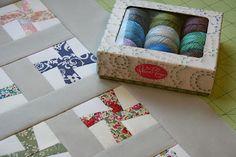 Whirlygiggle Block - Mini Quilt Tutorial