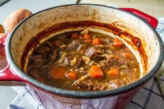 All That I'm Eating: Beef Braised in Beer with Onions and Carrots
