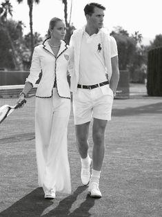 Ralph Lauren Salutes British Style At Wimbledon