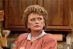 """You know how to throw a powerful stink eye... 