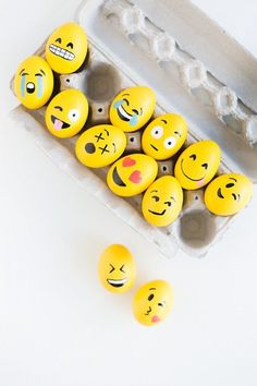 Make 'Em: Cheeky Emoji Easter Eggs