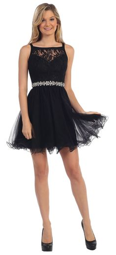 This beautiful homecoming prom short dress features sleeveless, illusion v neck…
