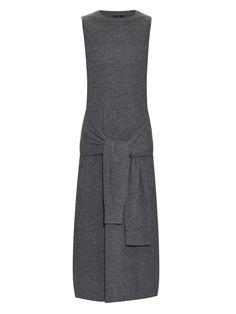 Tie-waist merino-wool dress | Joseph | MATCHESFASHION.COM