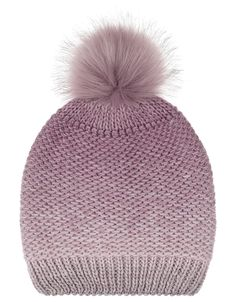 efd37d62 Wool Blend Ombre Pom Beanie Hat | Multi | One Size | 5911800100 |  Accessorize