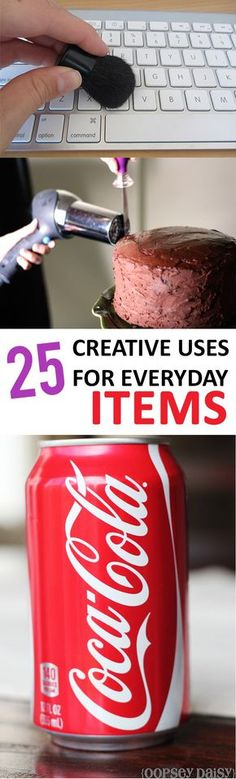 25 Creative Uses for Everyday Items