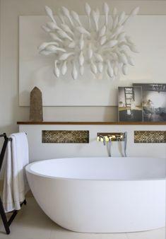 The Master Bathroom...