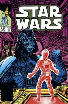 Marvel Comics of the 1980s: 1983 - Anatomy of a Cover - Star Wars #76 by Tom Palmer