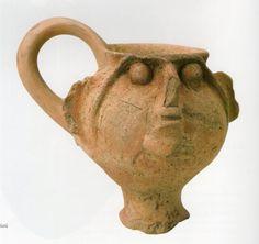 Hititte,drink cup, Kültepe (Tahsin Özgüç) (Erdinç Bakla archive) Bronze Age, Ancient Civilizations, Ancient Art, Archaeology, Old Things, Pottery, Vase, Ceramics, History