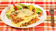Vegetarian Lasagna - Recipes - Best Recipes Ever - Better than frozen from the grocery store, this lasagna's fresh-tasting vegetables will appeal to vegetarians and meat eaters alike. Roasted Vegetable Lasagna, Vegetable Lasagna Recipes, Vegetable Pasta, Roasted Vegetables, Pasta Recipes, Salad Recipes, Cooking Recipes, Healthy Recipes, Veggies