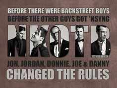 yes! but i still love BSB and nsync!