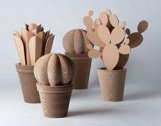 CactusNext | depuratore in cartone ondulato | InteriorValue http://www.interiorvalue.it/2013/02/cactusnext-depuratore-in-cartone-ondulato/#
