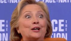 Hillary Clinton Seeing Conspiracies Everywhere....