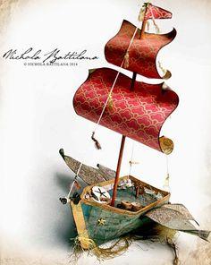 Pixie Hill: Sky Pirate Paper Boat
