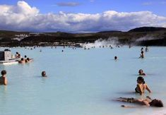 SWIM IN THE BLUE LAGOON Where: Reykjavík, Iceland This geothermal spa is one of the most visited attractions in Iceland. The mineral-rich warm water of the lagoon is believed to have healing properties and is known to cure skin ailments such as psoriasis. Places To Travel, Places To Go, Adventure Bucket List, Most Visited, Blue Lagoon, Swimming, Vacation, Iceland, World