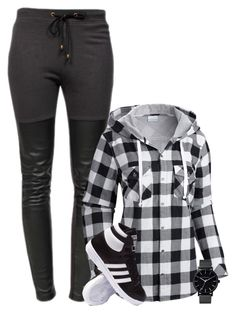 """Cosy"" by danigrll ❤ liked on Polyvore featuring Ragdoll, Columbia, adidas and The Horse"