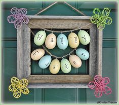 Cute idea you could do with your eggs too!
