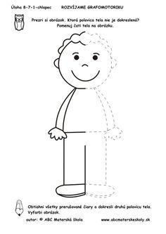 Boy - complete the body Body Preschool, Preschool Learning Activities, Kindergarten Worksheets, Kids Learning, All About Me Preschool, Drawing For Kids, Kids Education, Pre School, Kids And Parenting