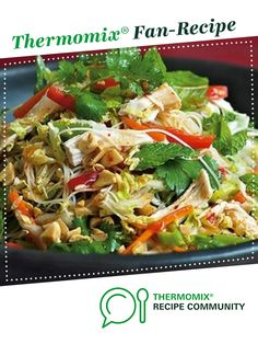 Vietnamese chicken noodle salad by Mishy3. A Thermomix <sup>®</sup> recipe in the category Main dishes - meat on www.recipecommunity.com.au, the Thermomix <sup>®</sup> Community.