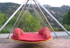 Mobilier extérieur lits flottants decodesign / Décoration