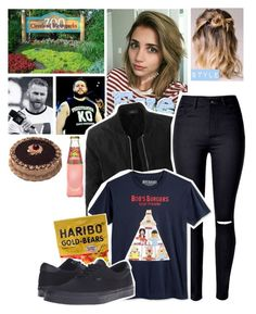 """🌟 Eve Élodie 🌟 Spending her birthday at a Zoo with Sami and Kevin before Raw"" by kimberly34 ❤ liked on Polyvore featuring Victoria's Secret PINK, LE3NO, WithChic, Vans and Neville"