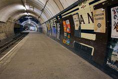 abandoned subway stations