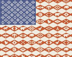 AMERICAN FLAG SOUTHWEST  by stephen skurnick