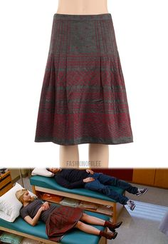 Max Studio Pleated Skirt - $48.00  Worn with: Anthropologie Booties