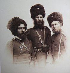 Kubanskie cossacks ( on river Kuban ) 1877. ~Repinned Via Oleg Sukhanov