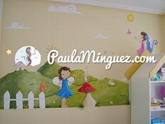 Todo lo que necesitas saber sobre murales infantiles para niñas pintados a mano. Me llamo Paula Mínguez y puedo ayudarte a personalizar tu hogar.